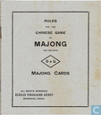 Rules for the Chinese Game of Majong for use with D&G Majong Cards