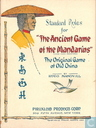 Standard Rules for 'The Ancient Game of the Mandarins'.