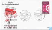 Post Stamp Fulda, Torch Relay