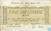 Allemagne 1 milliard mark