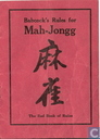 Babcock's Rules for Mah-Jongg