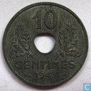 France 10 centimes 1941 (ETAT - thick flan)