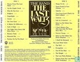 Vinyl records and CDs - Band, The - The last waltz