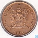 South Africa 1 cent 1986