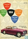 Automobil Revue Katalog 1954 + Revue Automobile Catalogue 1954