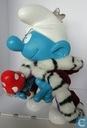 King Smurf (white pants and hat & solver crown)