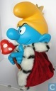King Smurf (yellow pants and hat & golden crown)