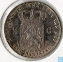 Netherlands ½ gulden 1848/7