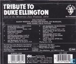 Disques vinyl et CD - Artistes variés - Tribute to Duke Ellington