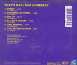 Vinyl records and CDs - Adderley, Nat - That's Nat Adderley