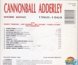 Platen en CD's - Adderley, Julian 'Cannonball' - 1960-1969 Work Song
