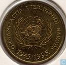 "Croatia 10 lipa 1995 ""50th anniversary UN"""