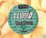 Caps and pogs - 01a) Flippo (Ned.)1/100 1e druk - Bugs Bunny