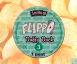 Caps and pogs - 01a) Flippo (Ned.)1/100 1e druk - Daffy Duck