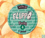 Caps and pogs - 01a) Flippo (Ned.)1/100 1e druk - Porky