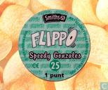 Caps and pogs - 01a) Flippo (Ned.)1/100 1e druk - Speedy Gonzales