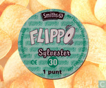 Caps and pogs - 01a) Flippo (Ned.)1/100 1e druk - Sylvester