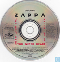 Disques vinyl et CD - Zappa, Frank - The Best Band You Never Heard In Your Life