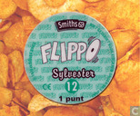 Caps and pogs - 01b) Flippo (Ned.) 1/100 herdruk - Sylvester