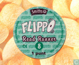 Caps and pogs - 01a) Flippo (Ned.)1/100 1e druk - Road Runner