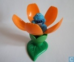 Flower with frog