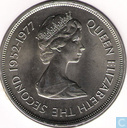 "Falkland Islands 50 pence 1977 ""25th Anniversary of the Coronation of Elizabeth II"""