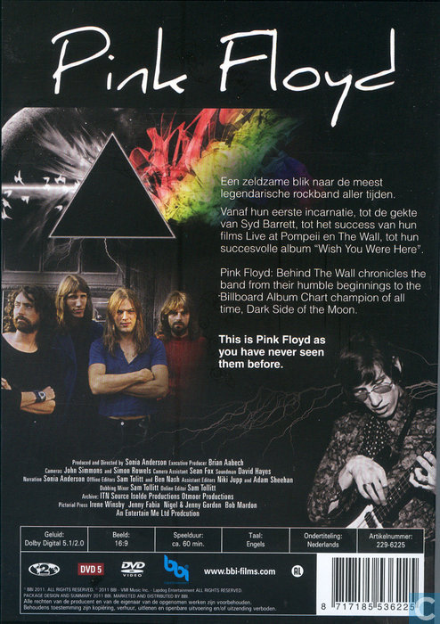 Behind the Wall: Inside the Minds of Pink Floyd - DVD - Catawiki