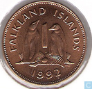 Falkland Islands 1 penny 1992