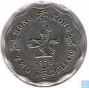 Hong Kong 2 Dollar 1978