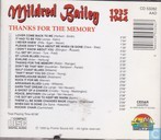 Schallplatten und CD's - Bailey, Mildred - Thanks for the memory 1935-1944