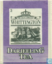 Tea bags and Tea labels - WhittingtoN -  3 DarjeelinG TeA