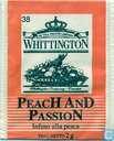 Sachets et étiquettes de thé - WhittingtoN - 38 PeacH AnD PassioN