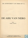 Strips - Nero [Sleen] - De ark van Nero