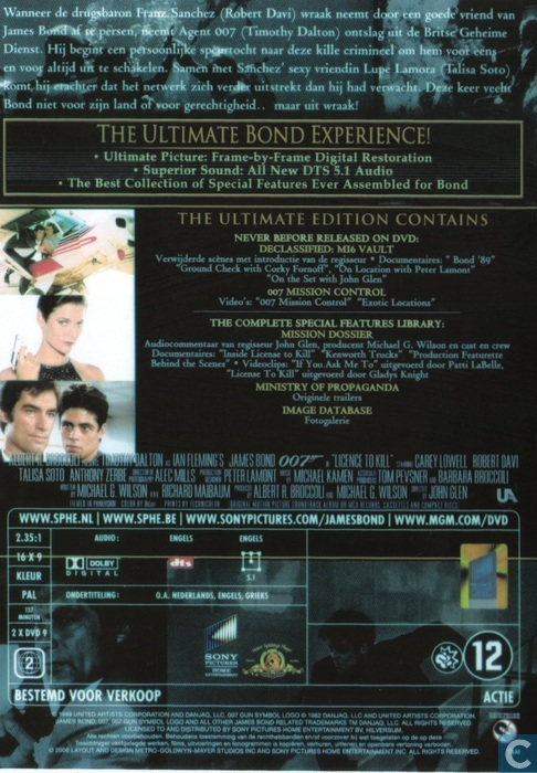Licence to Kill - DVD - Catawiki