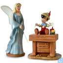 "WDCC Blue Fairy & Pinocchio ""The Gift of Life is Thine"""