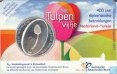 "Netherlands 5 euro 2012 (coincard - BU) ""400 years of diplomatic relations between Turkey and Netherlands"""