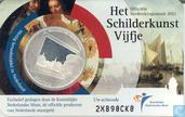 "Netherlands 5 euro 2011 (coincard) ""Painting"""