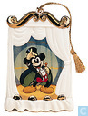 "WDCC Mickey Mouse Flat Disc Ornament ""On With The Show"""