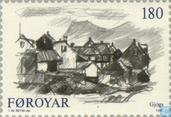 Postage Stamps - Faroe Islands - Villages on the Faroe Islands
