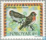 Postage Stamps - Faroe Islands - Birds
