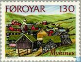 Postage Stamps - Faroe Islands - Island Of Mykines