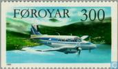 Postage Stamps - Faroe Islands - Aircraft