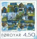 Postage Stamps - Faroe Islands - Paintings