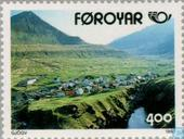 Postage Stamps - Faroe Islands - Tourist attractions