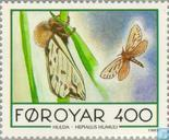 Postage Stamps - Faroe Islands - Butterflies