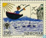 Postage Stamps - Faroe Islands - International year of the child