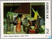 Postage Stamps - Faroe Islands - Joensen-Mikines 85 years