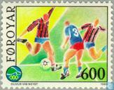 Postage Stamps - Faroe Islands - Play small islands