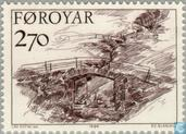 Postage Stamps - Faroe Islands - Bridges