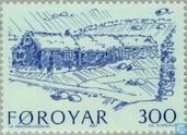 Postage Stamps - Faroe Islands - Farms